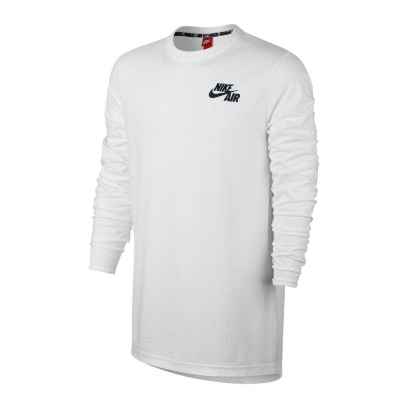 nike air top sweatshirt weiss schwarz f100. Black Bedroom Furniture Sets. Home Design Ideas