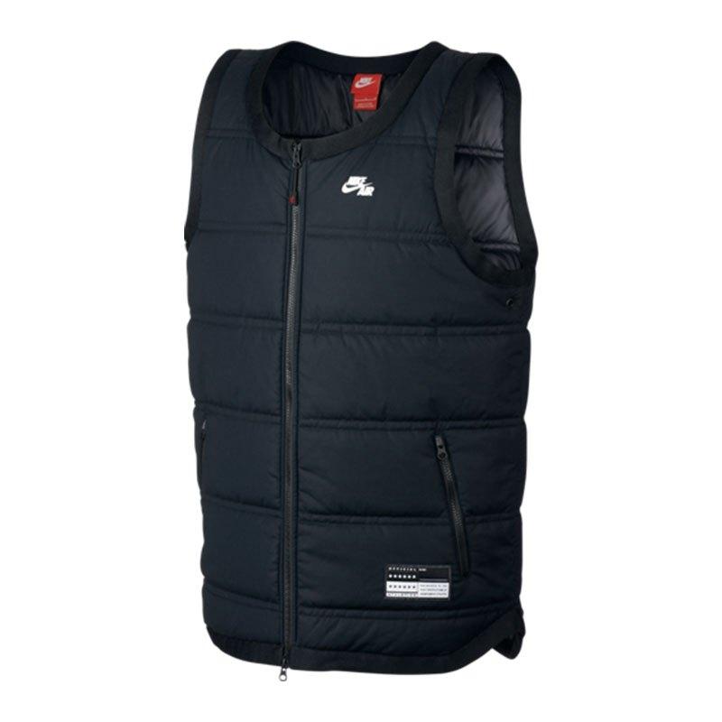 nike air top weste schwarz f010 freizeit lifestyle streetwear jacke rmellos men. Black Bedroom Furniture Sets. Home Design Ideas