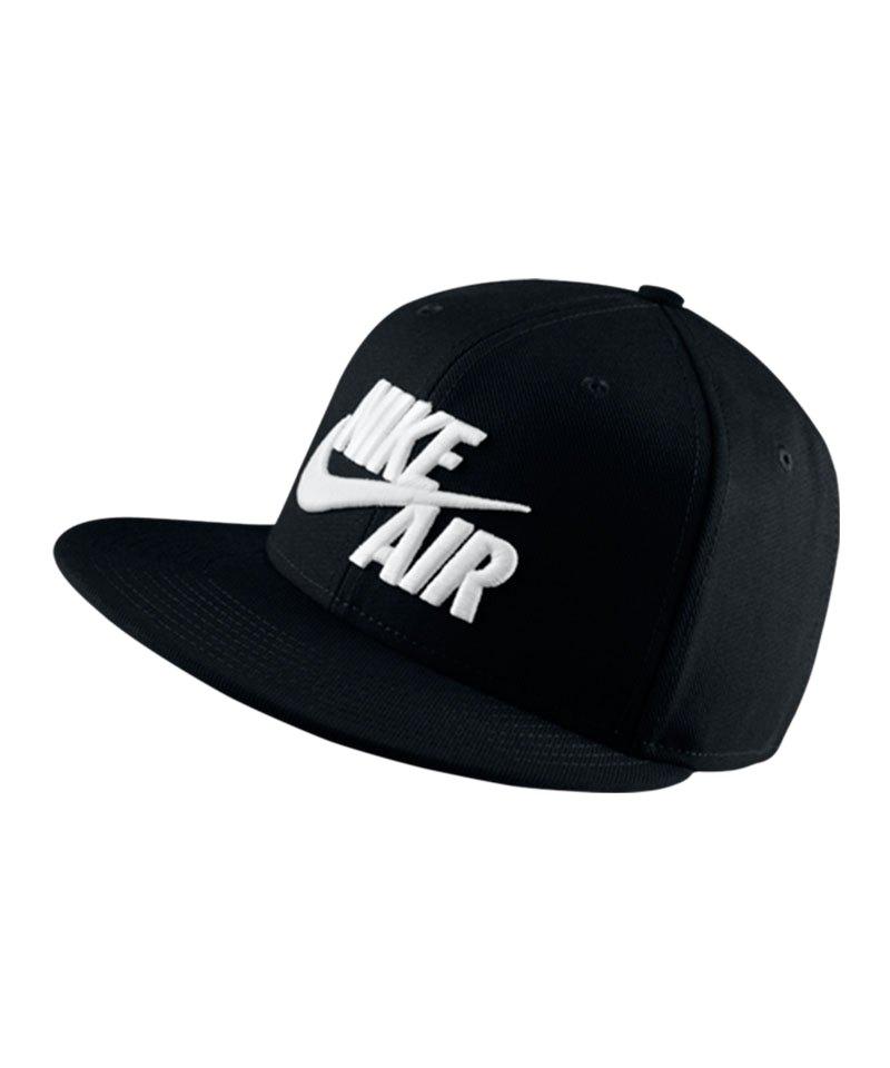 d2b15b42f82f8 Nike Air True Snapback Cap Schwarz Weiss F010 - schwarz