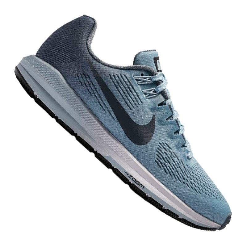Nike Air Zoom Structure 21 Running Damen Blau F400