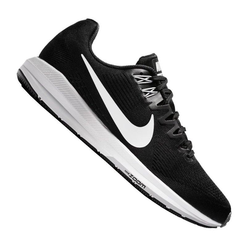 Nike Air Zoom Structure 21 Laufschuhe Damen schwarz kaufen