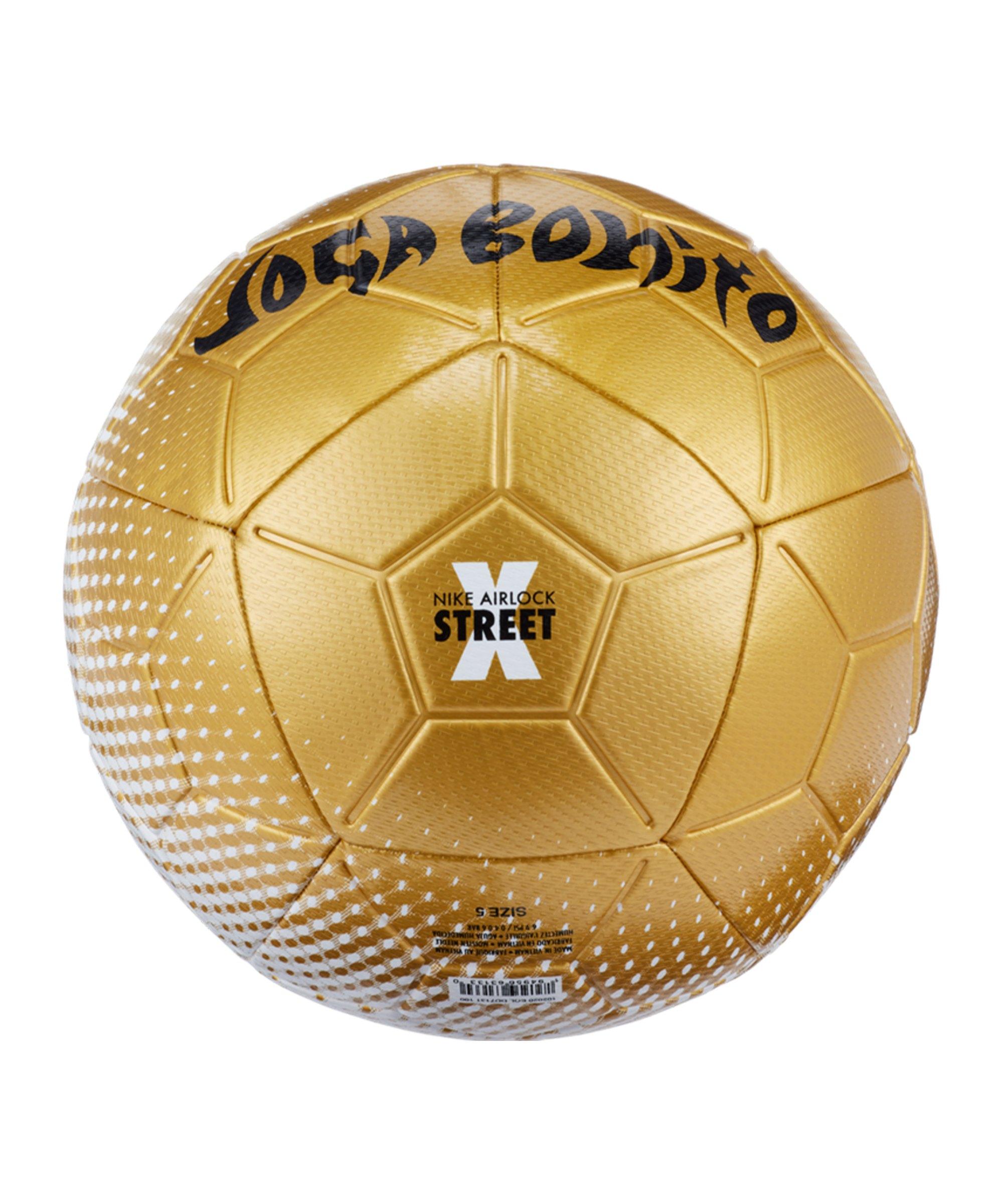 Nike Airlock Street X Joga Bonito Schwarz F100 Equipment Fussball