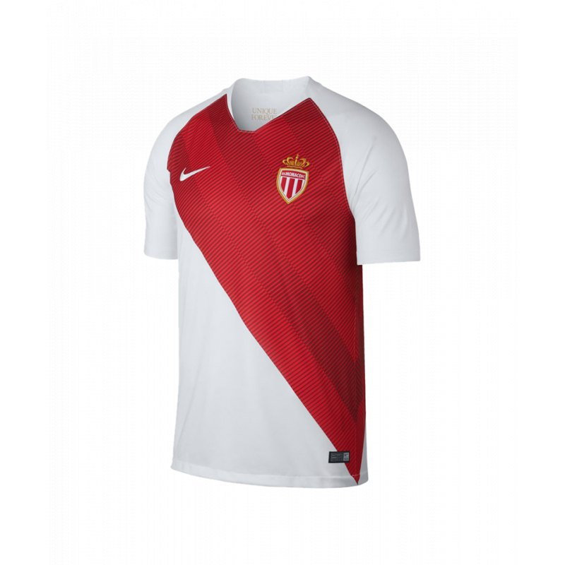 the latest 2a8f9 b39c6 Nike AS Monaco Trikot Home 2018 2019 Weiss F100 - weiss