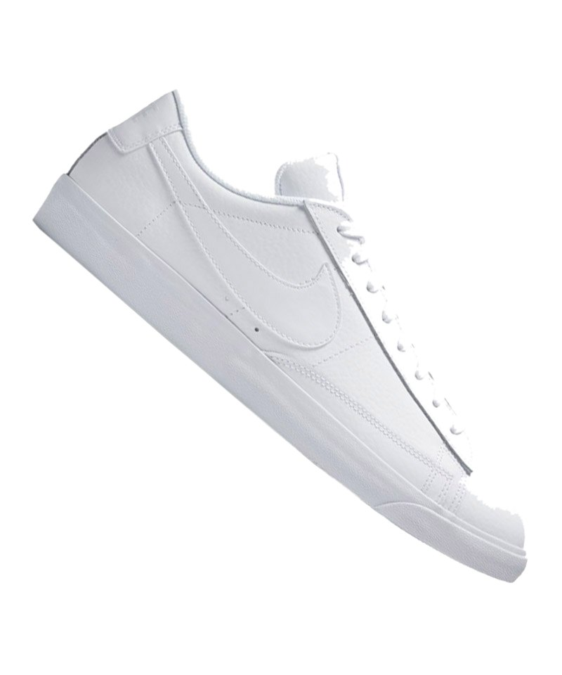 best service 2d217 04d7c Nike Blazer Low Leather Sneaker Weiss F100 - weiss