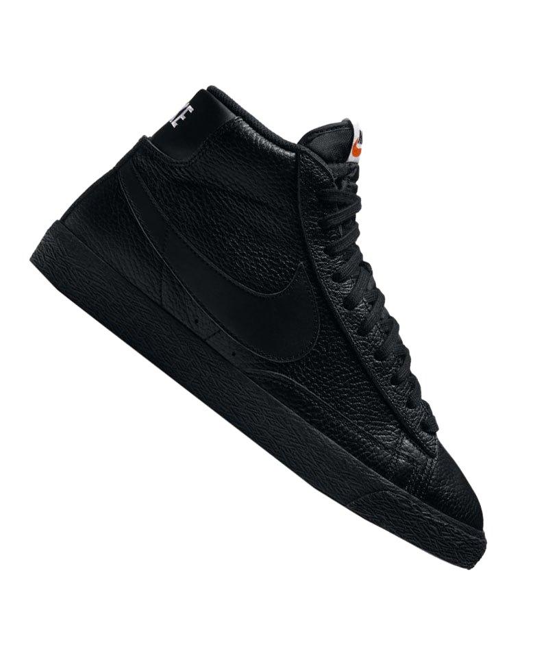 nike blazer mid premium 09 sneaker schwarz f007. Black Bedroom Furniture Sets. Home Design Ideas