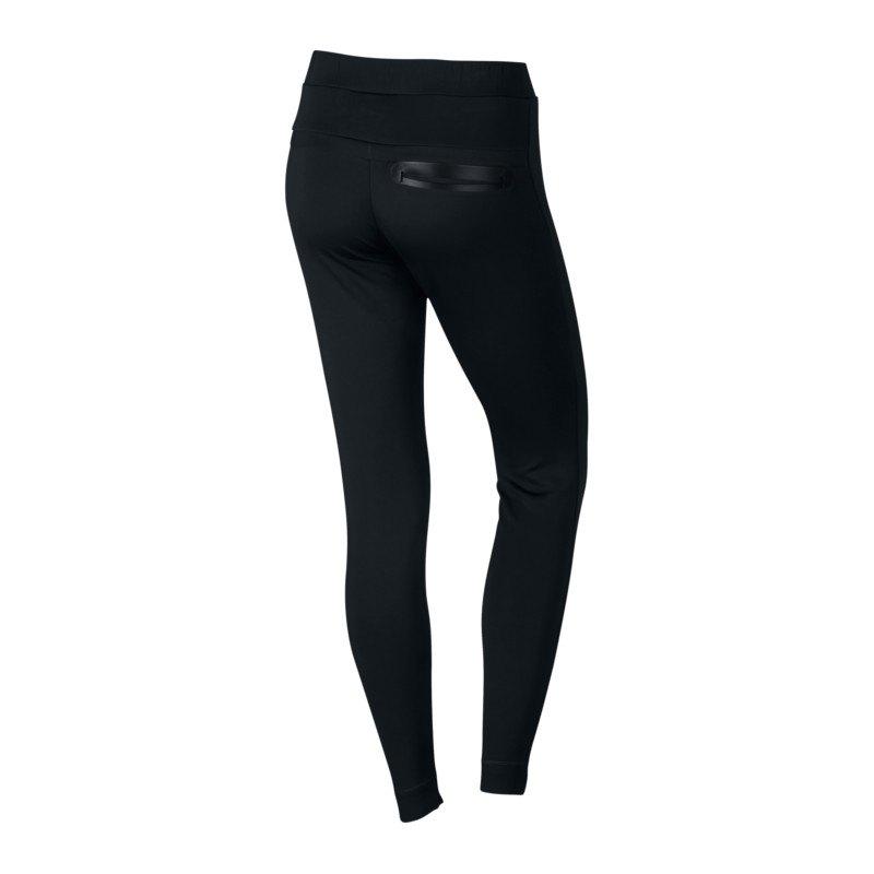 nike bonded legging damen schwarz f010 hose lang pant lifestyle frauenbekleidung. Black Bedroom Furniture Sets. Home Design Ideas