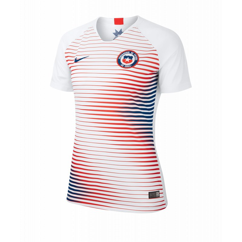 Nike Chile Trikot Away Damen WM 2019 Weiss F100