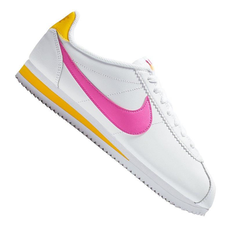 best website 3b084 855d1 Nike Classic Cortez Leder Sneaker Damen F112