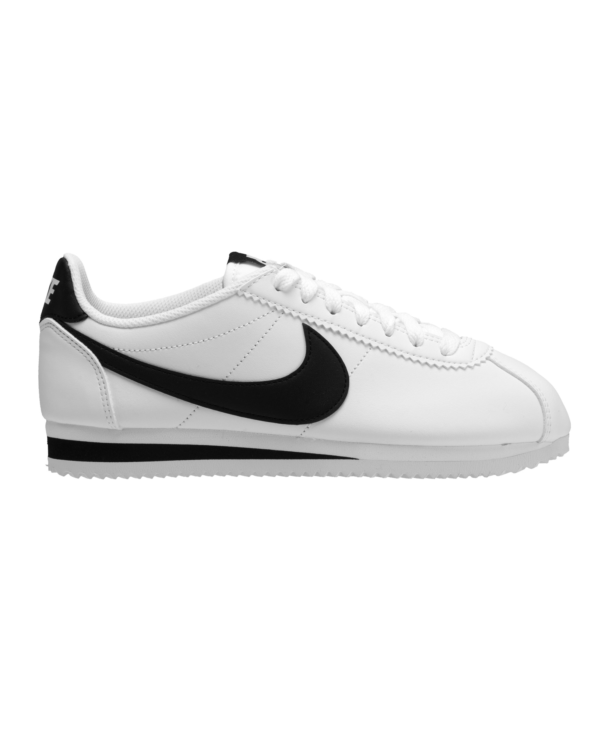 nike classic cortez leder sneaker damen weiss f101. Black Bedroom Furniture Sets. Home Design Ideas