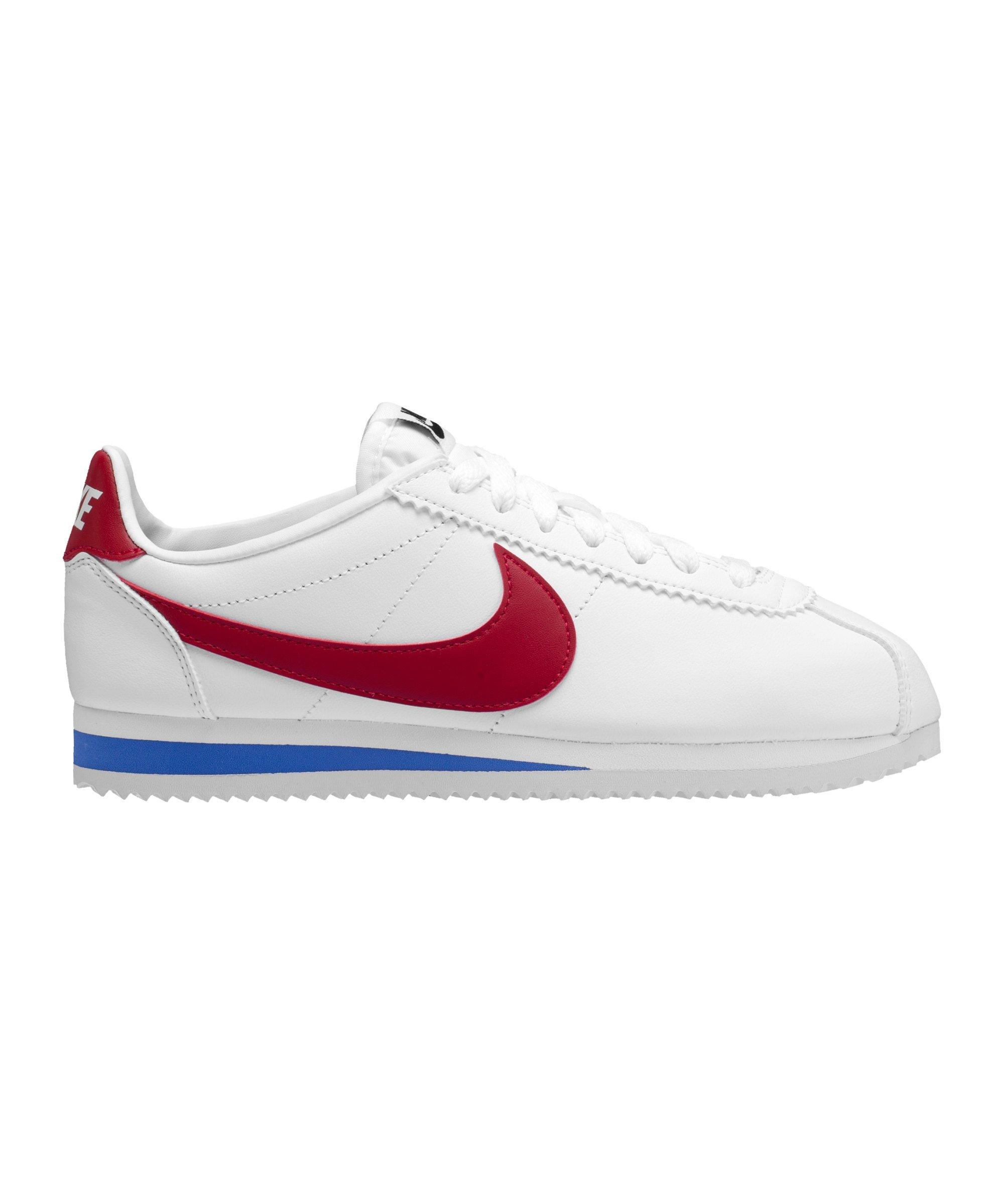 Nike Classic Cortez Leder Sneaker Damen Weiss F103