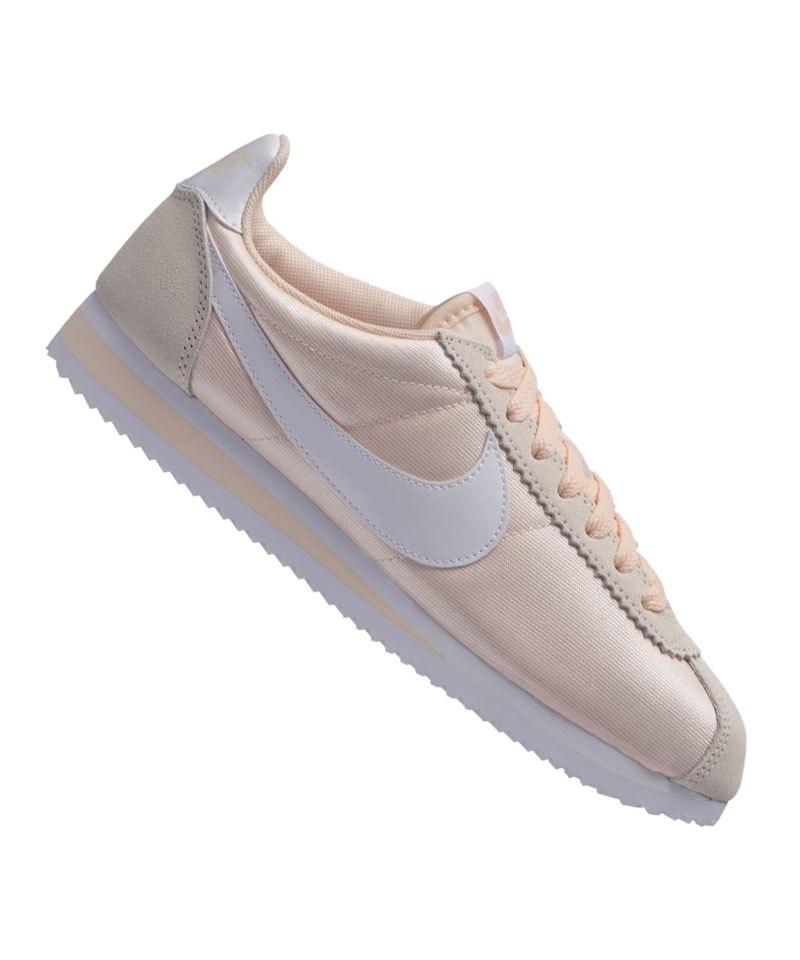 0924ef46df96 Nike Classic Cortez Nylon Sneaker Damen Beige F803