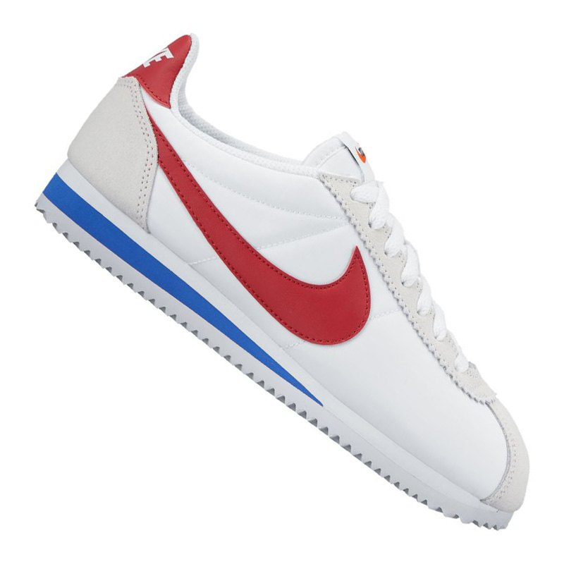 nike classic cortez nylon sneaker damen weiss f101 schuh. Black Bedroom Furniture Sets. Home Design Ideas