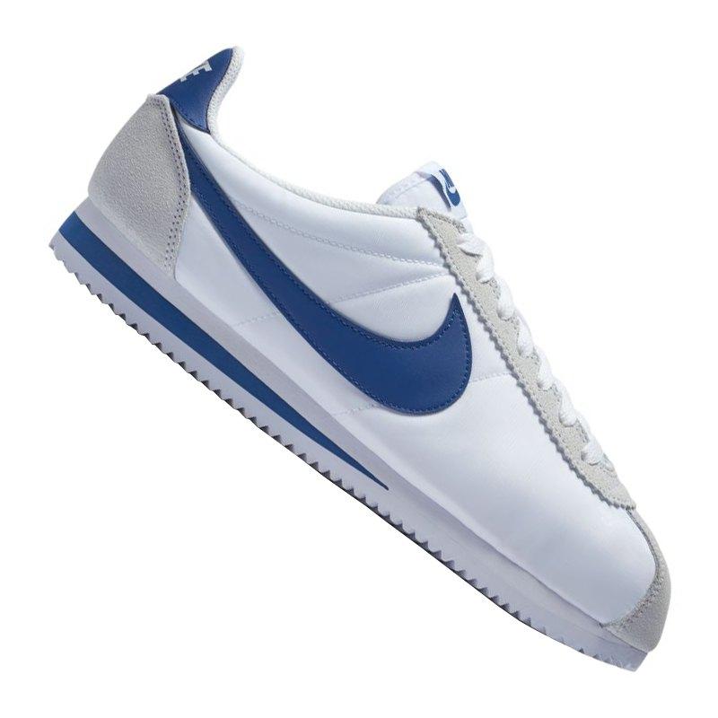 f9d6891cfbb ... usa nike classic cortez nylon sneaker weiss blau f102 weiss bc75e df28a