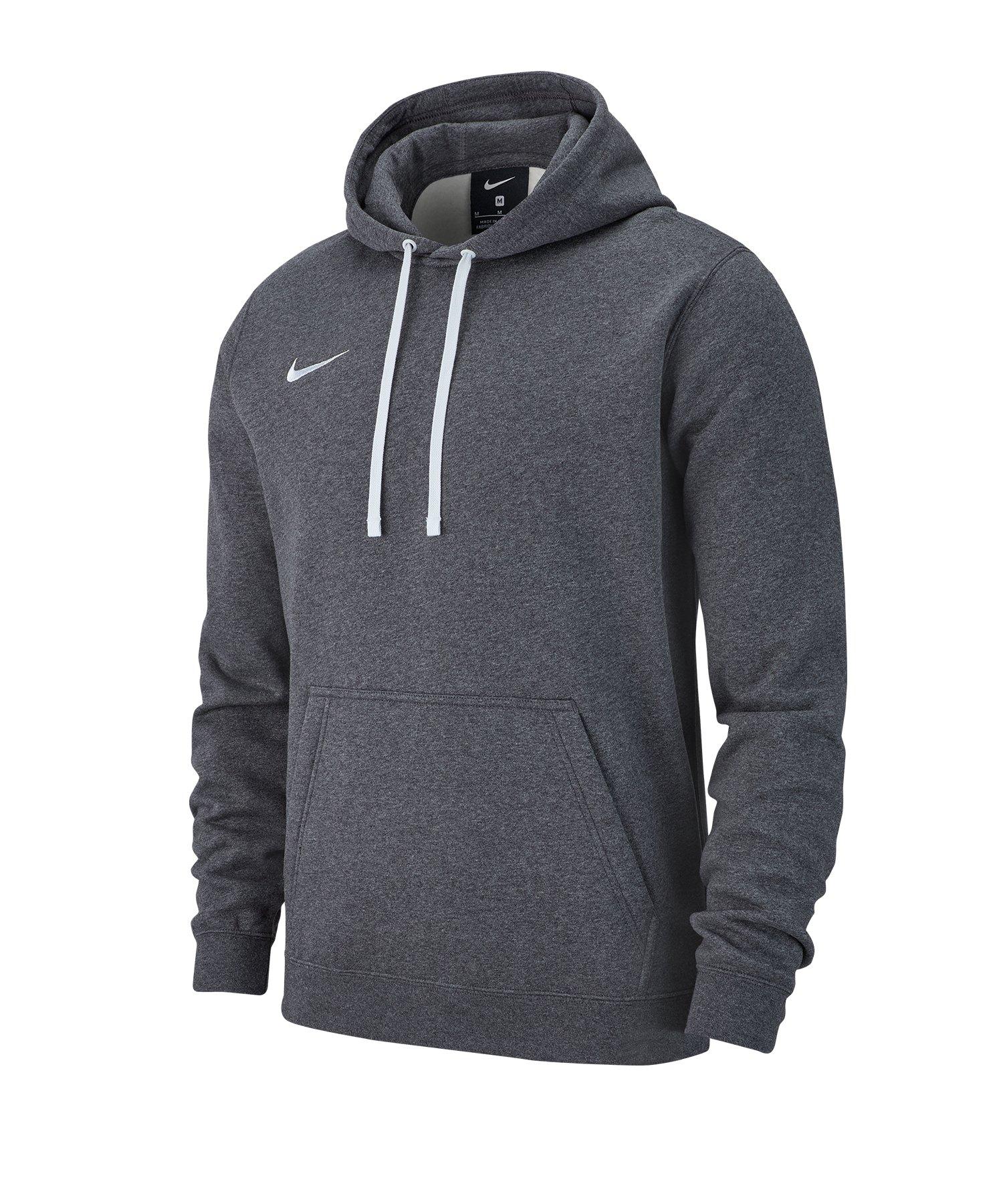 Details about Nike Team Club 19 PO Fleece Hoody Sweatshirt 010 Size: M
