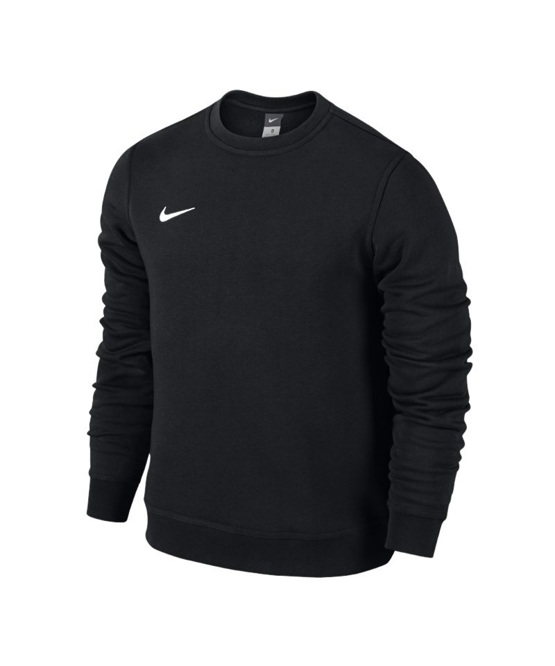 nike club crew sweatshirt schwarz weiss f010 pullover. Black Bedroom Furniture Sets. Home Design Ideas