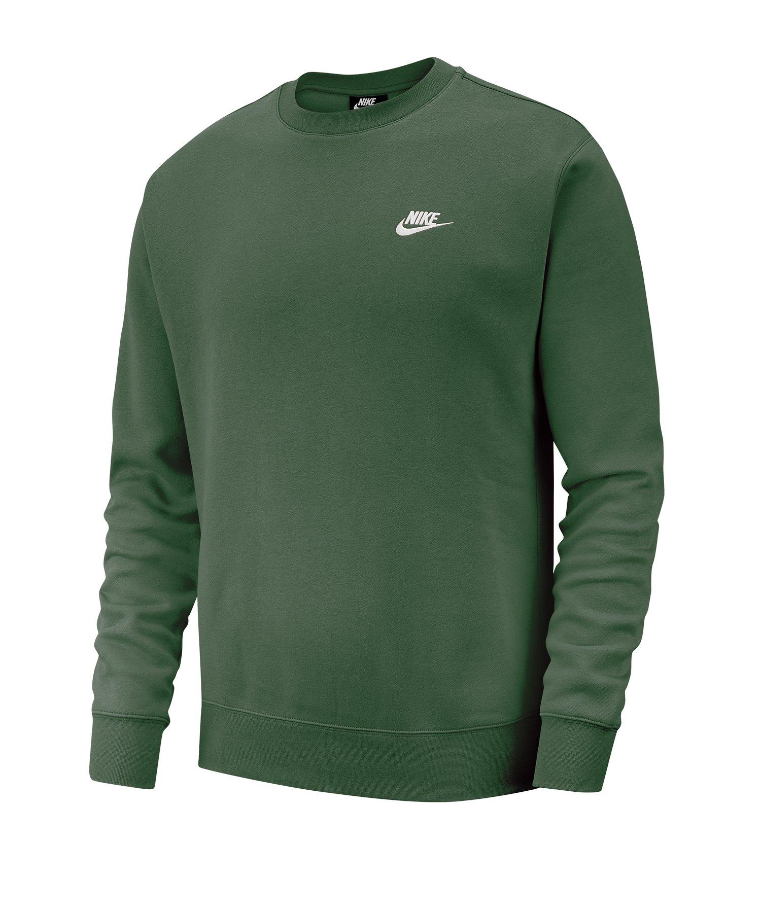 Nike Club Crew Sweatshirt Weiss F370
