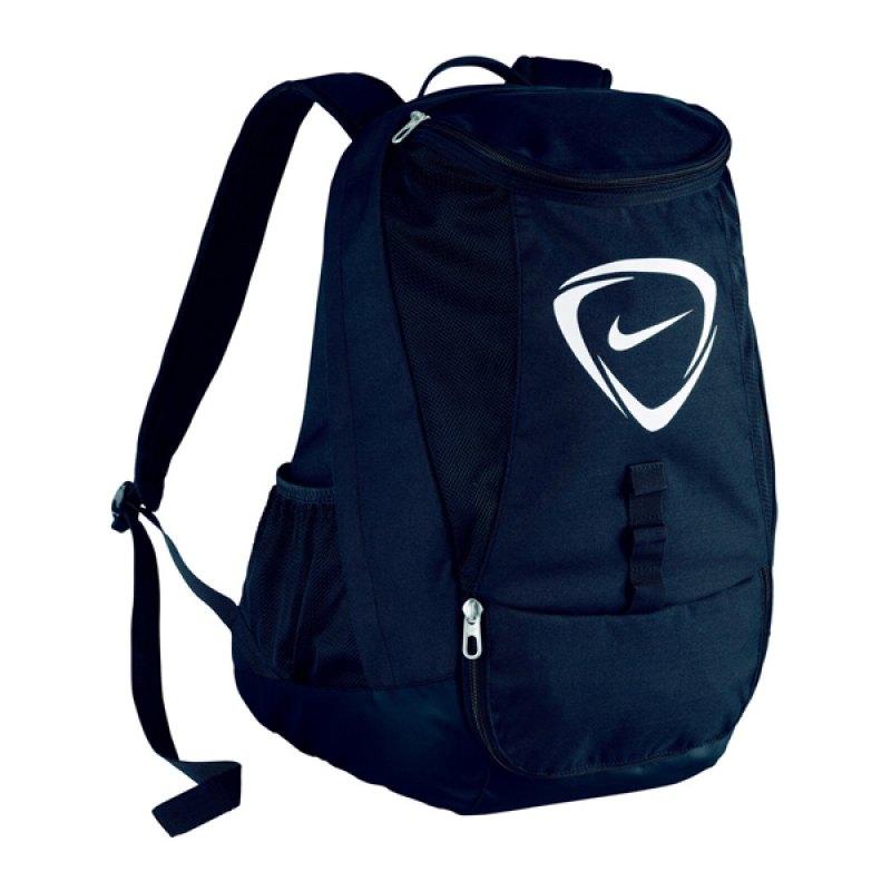 nike club team backpack rucksack schwarz f001. Black Bedroom Furniture Sets. Home Design Ideas