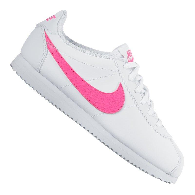 nike cortez sneaker kids weiss pink f106 schuh shoe. Black Bedroom Furniture Sets. Home Design Ideas