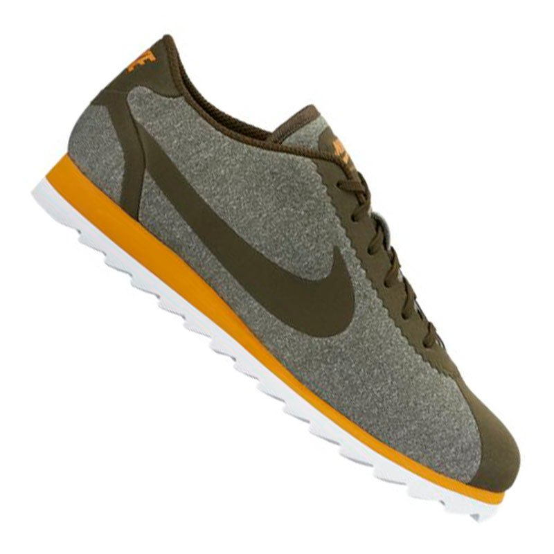 nike cortez ultra se sneaker damen khaki f300 freizeit. Black Bedroom Furniture Sets. Home Design Ideas
