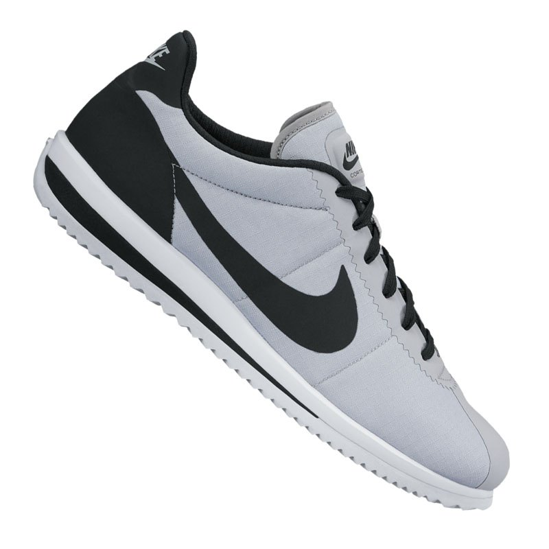 nike cortez ultra sneaker grau schwarz f004 schuh shoe. Black Bedroom Furniture Sets. Home Design Ideas