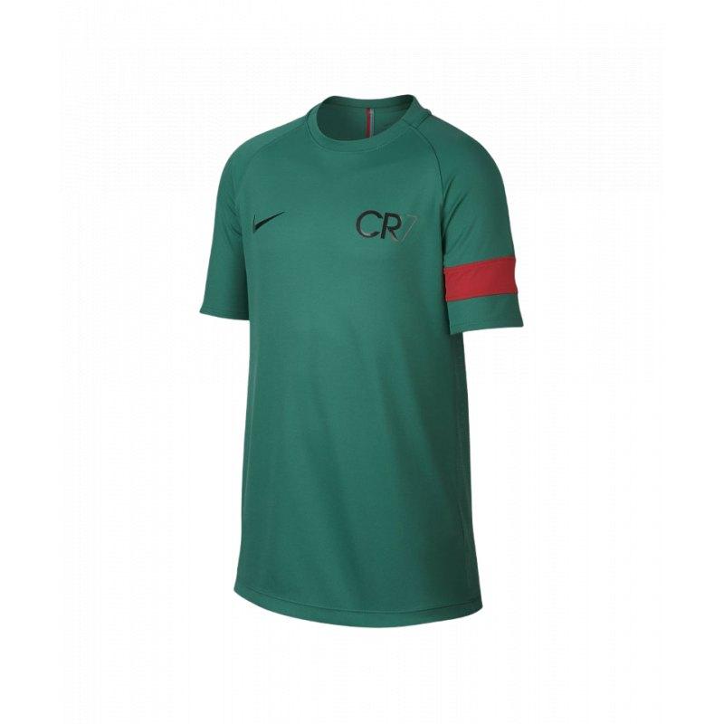 Nike Ronaldo Logo SchwarzSchwarz  TShirt
