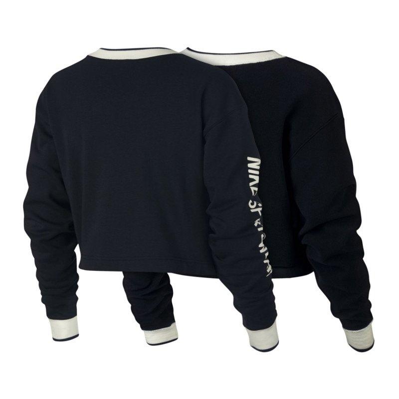 Nike Wende Sweater Damen Schwarz Weiss F010