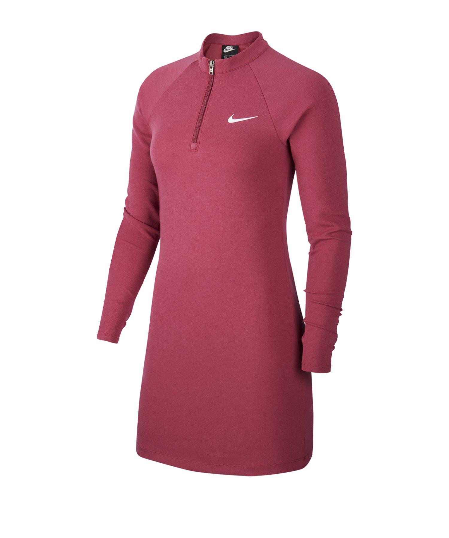 Nike Dress Kleid langarm Lila F19