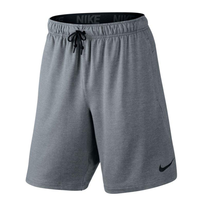 Nike Dri-Fit Fleece 8 Short Hose kurz Grau F065 - grau