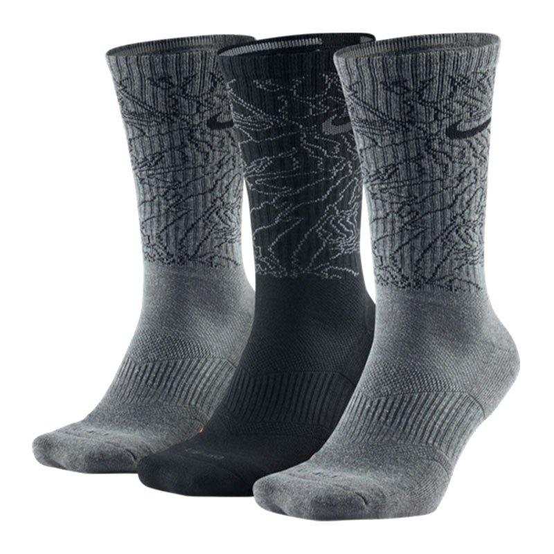 nike dri fit topo camo crew socks 3er pack f904 strumpf. Black Bedroom Furniture Sets. Home Design Ideas