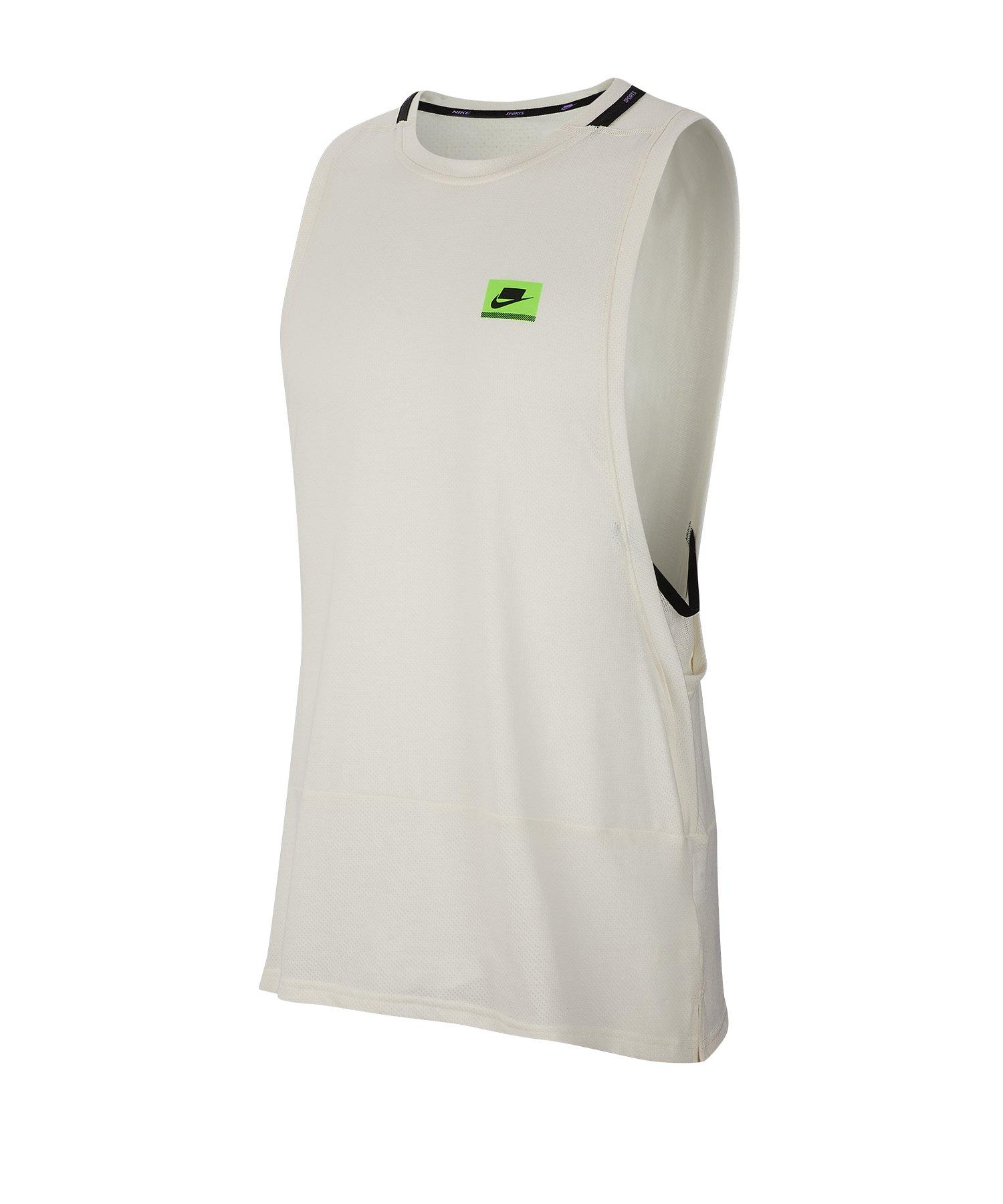 hot sale online 7c323 3d8b6 Nike Dri-FIT Training Tanktop Running Grau F110