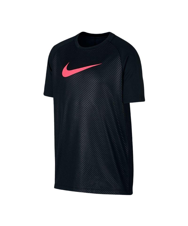 Nike Dry Academy GX2 Tee T Shirt Kids Schwarz F010