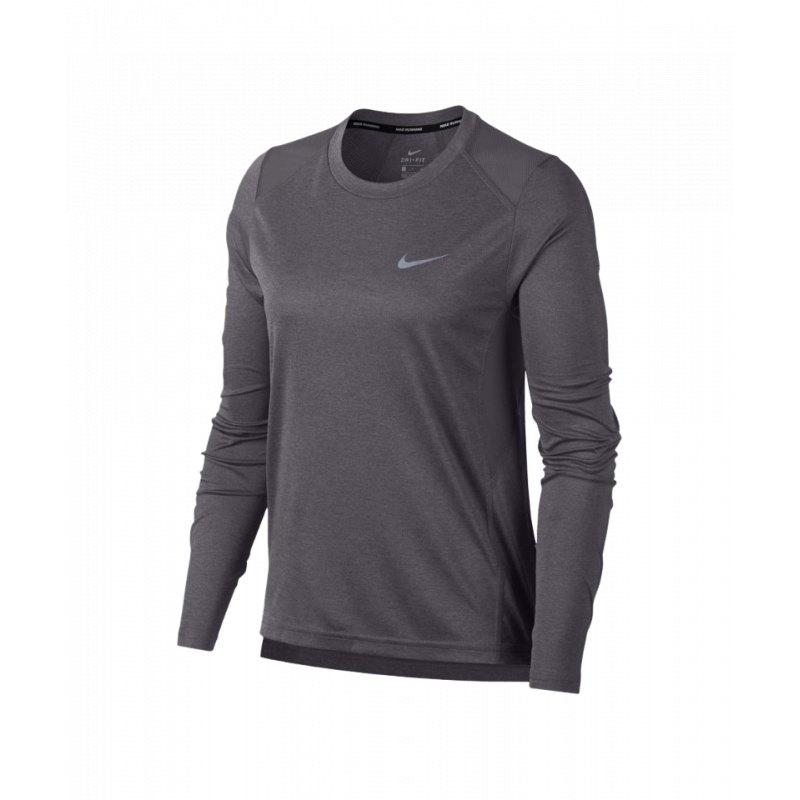 Nike Miller T Shirt Running Damen Weiss F100