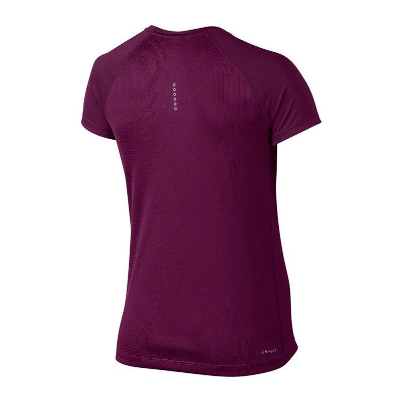 nike dry miler tee t shirt running damen f665 laufen joggen kurzarm shortsleeve. Black Bedroom Furniture Sets. Home Design Ideas