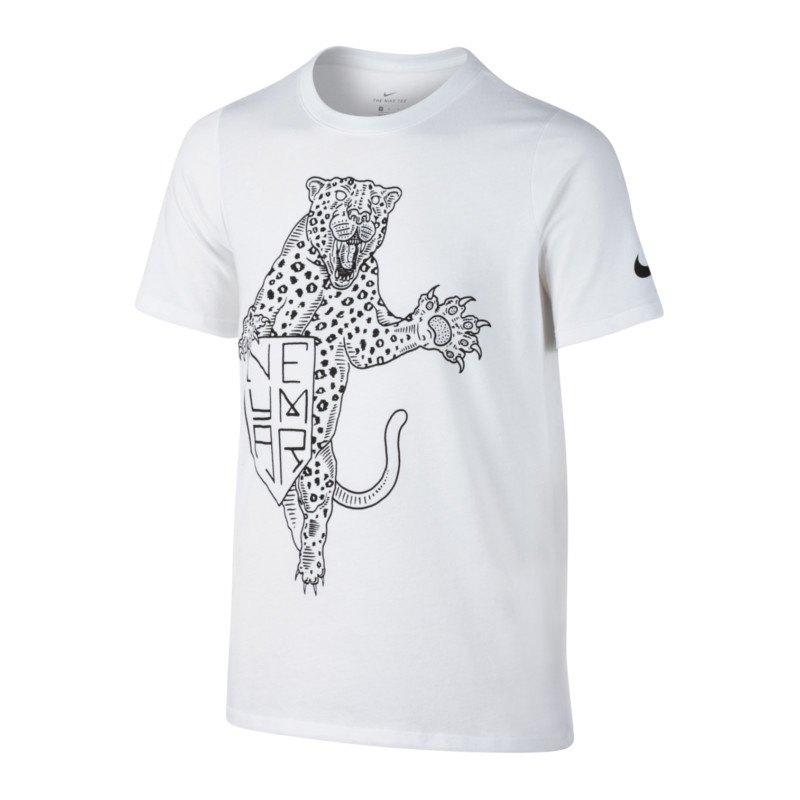 Nike Dry Neymar T-Shirt Tee Kids Weiss F100   Kurzarm   Shortsleeve   Top ...