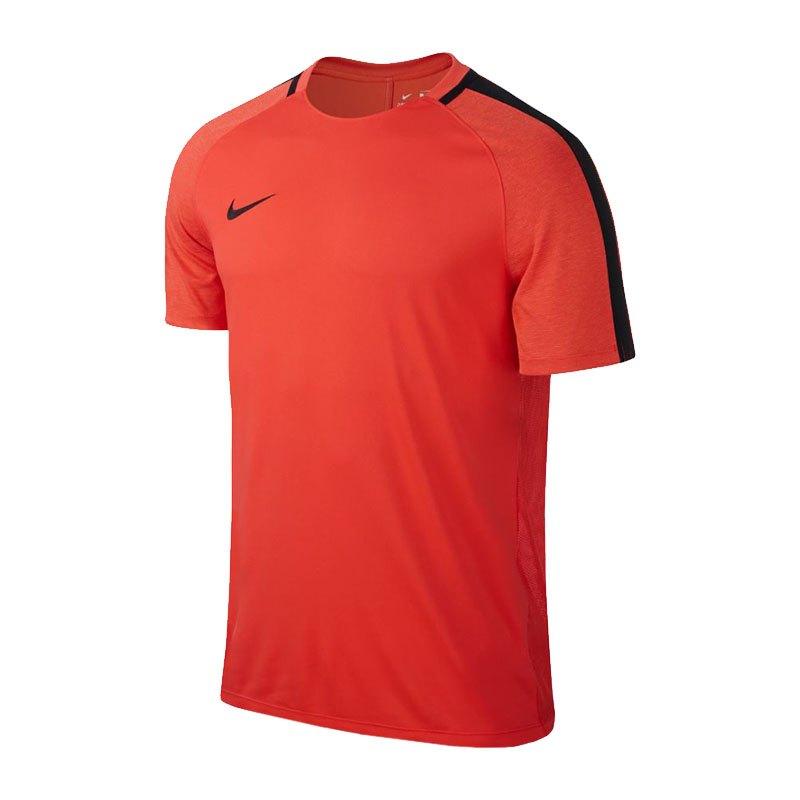 Nike Dry Squad Football Top T Shirt Orange F852