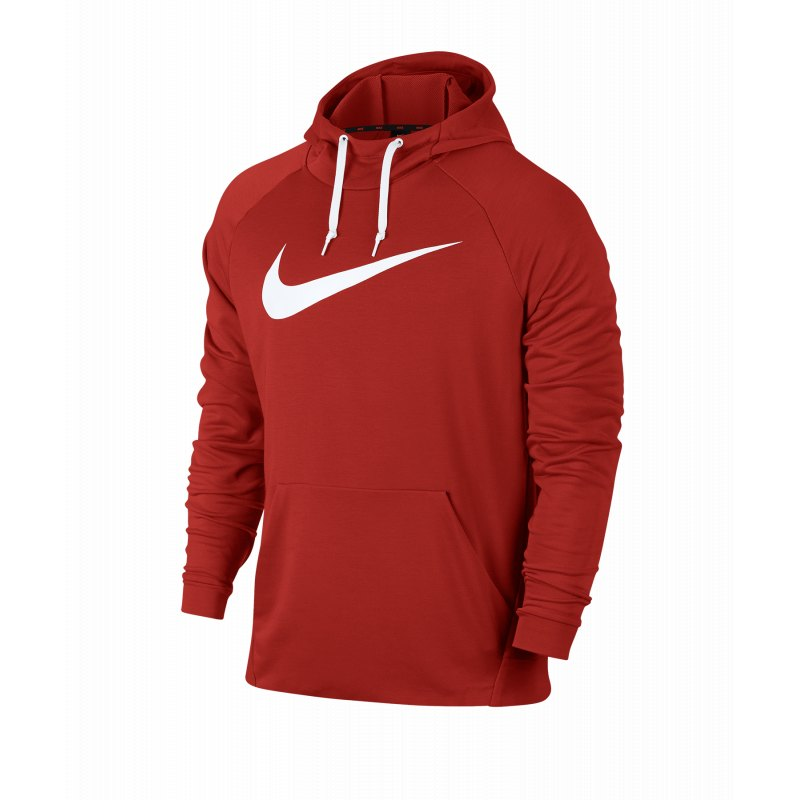 sports shoes 141d5 7798b Nike Dry Swoosh Kapuzensweatshirt Running Rot F622 - Rot