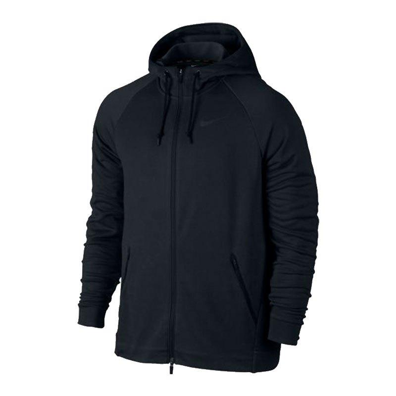 Nike Dry Training Jacket Jacke Schwarz F010 - schwarz