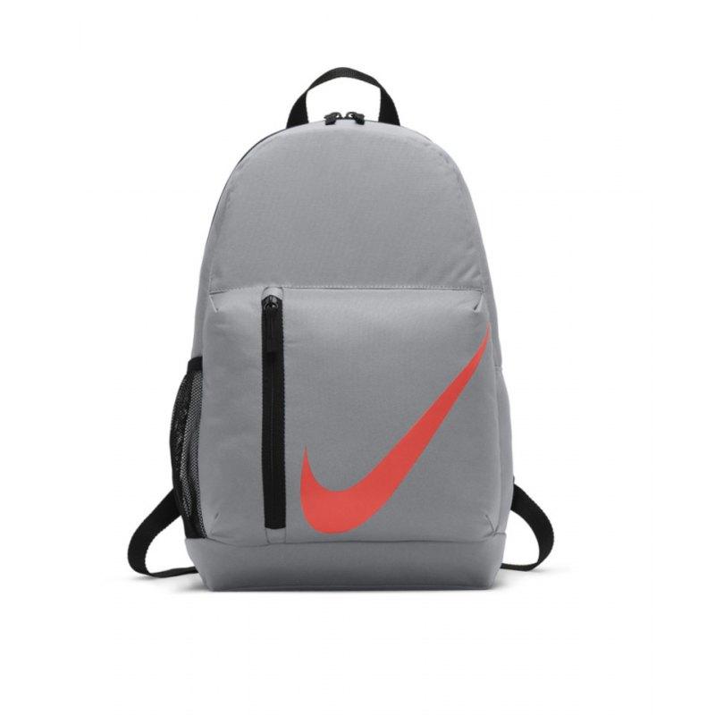 2994bfebbaa92 Nike Elemental Backpack Rucksack Kids Grau F012 - Grau