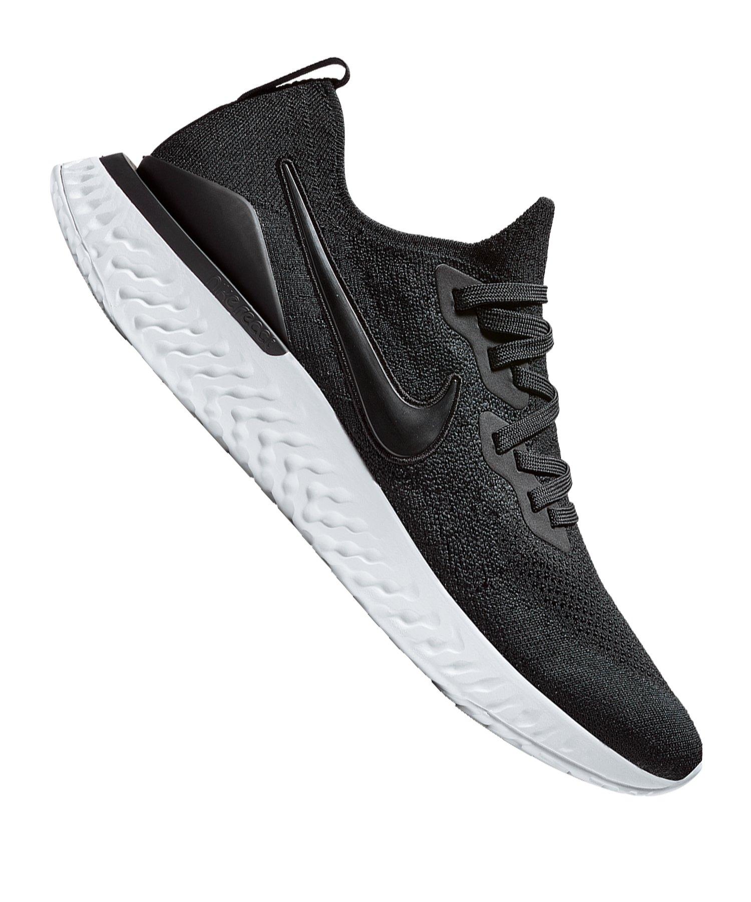 Running Schwarz Nike F002 2 Flyknit Epic React 76vYgybf