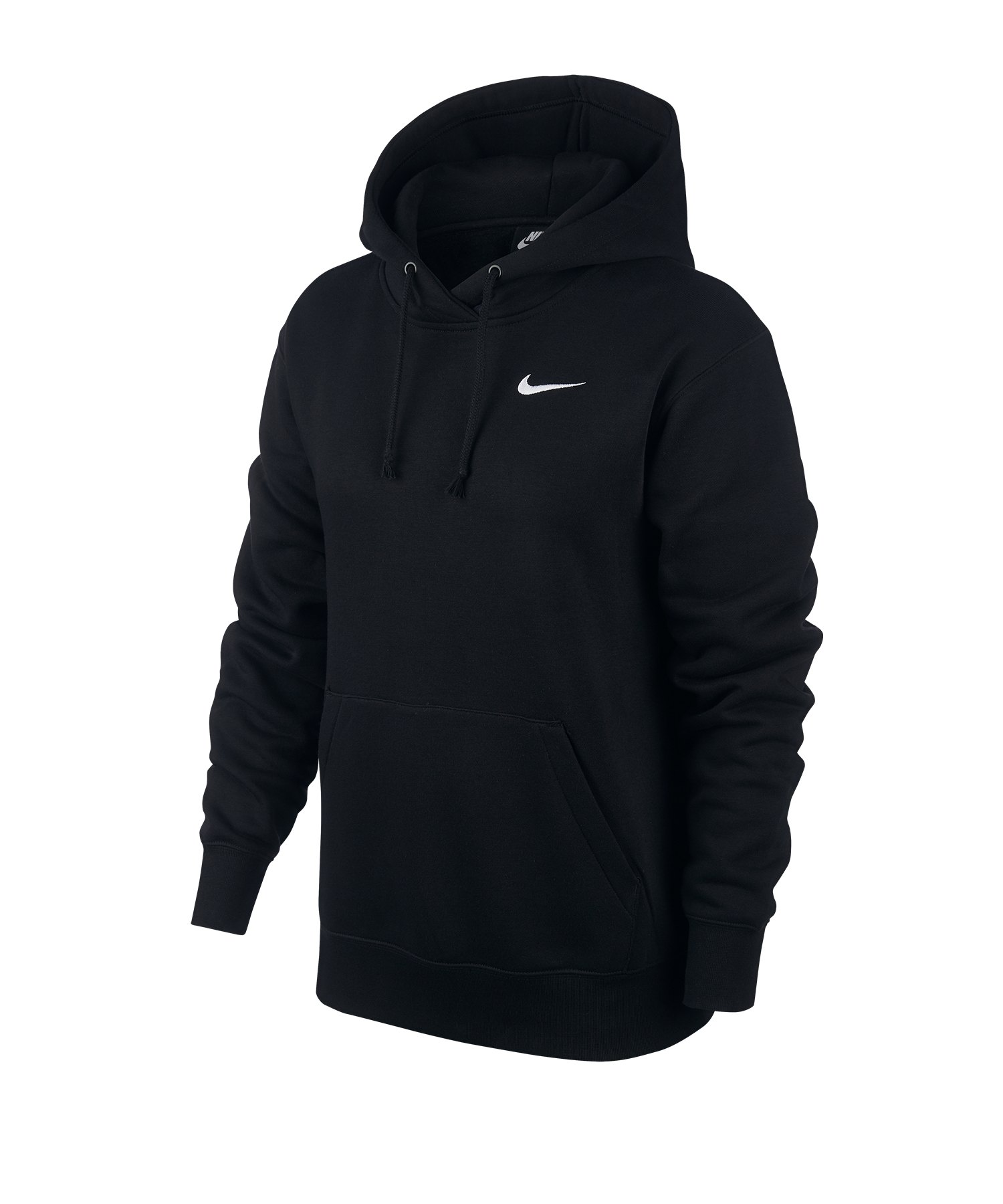 Nike Essential Hoody Damen Schwarz Weiss F010
