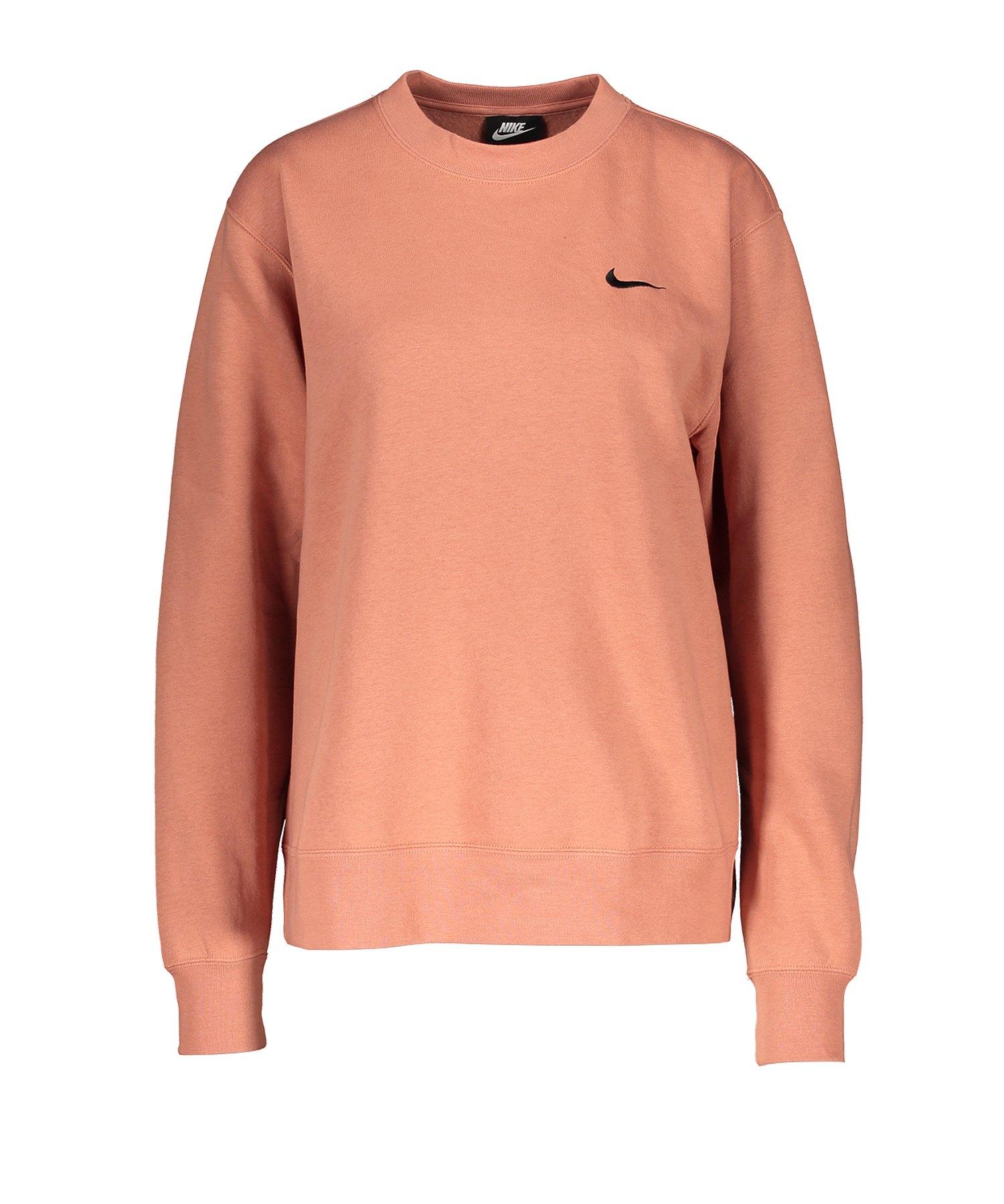 damen sweatshirt orange
