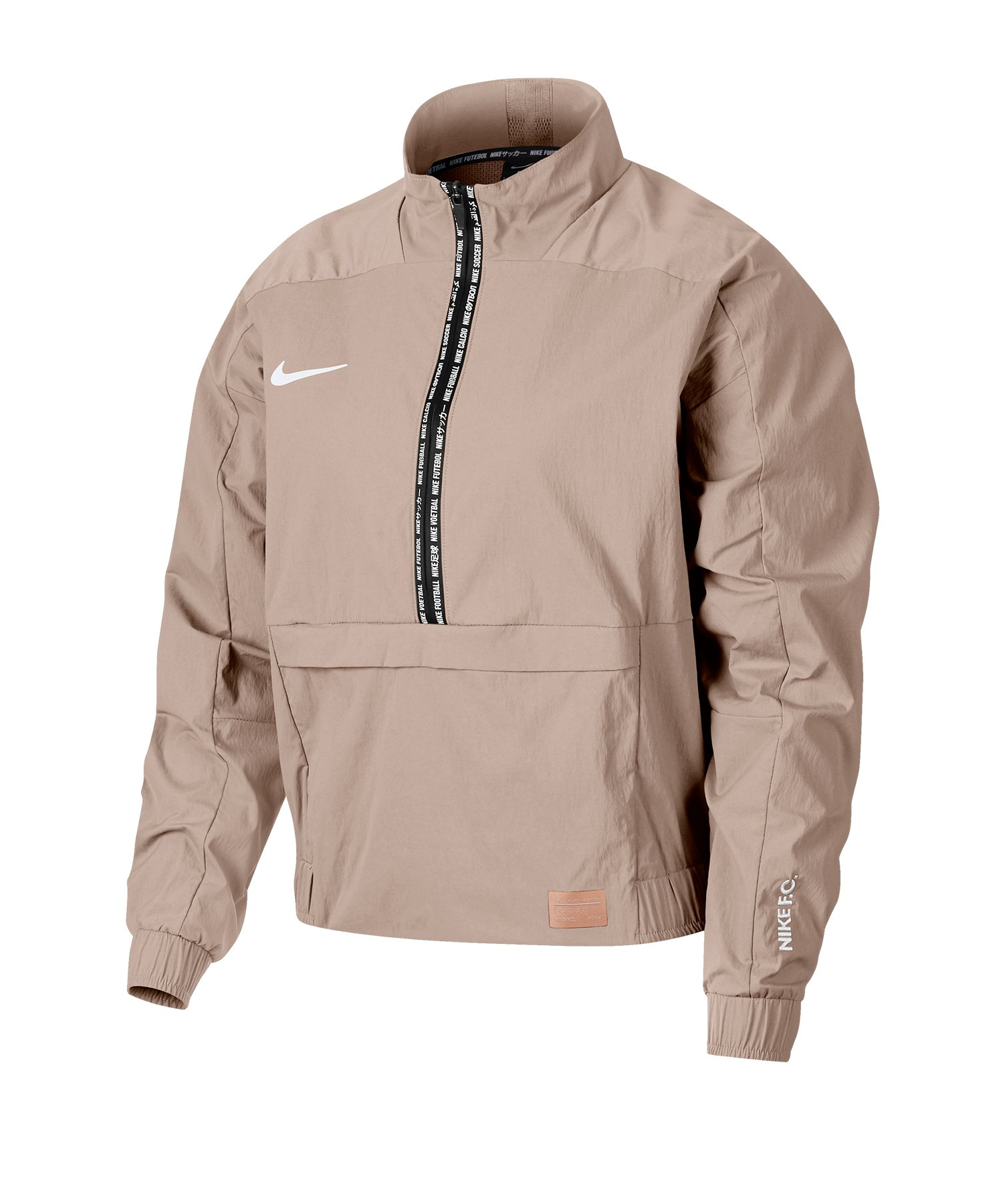 Nike F.C. Crop Jacket Jacke Damen Rosa F838