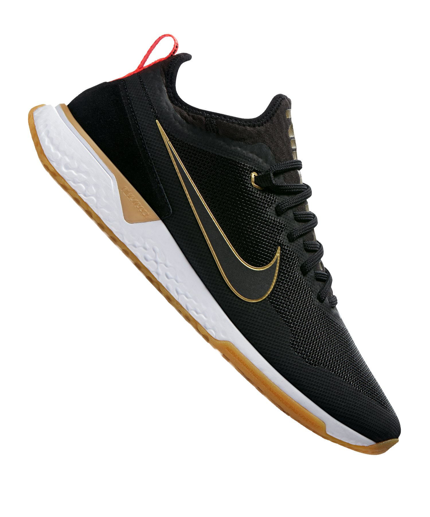 Nike F.C. React Sneaker Schwarz Gold F062