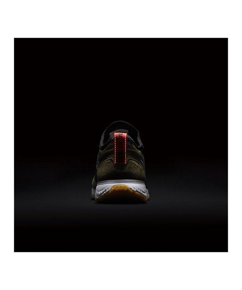 Nike F.C. React Sneaker Schwarz Grün F003