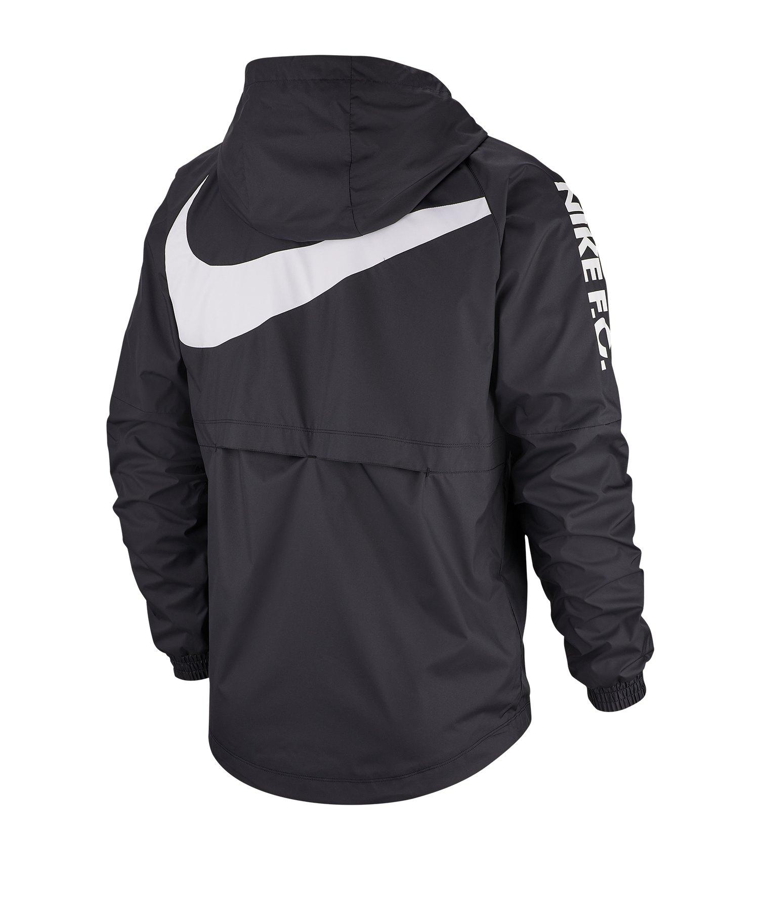 Nike Swoosh Jacke Damen Schwarz F010
