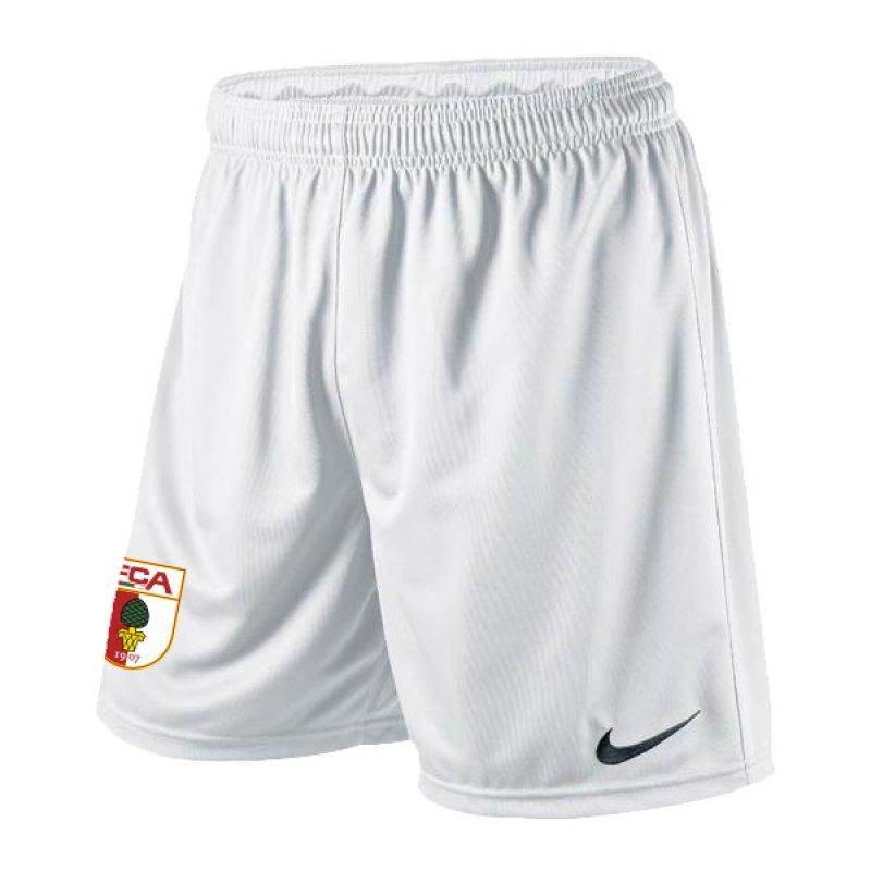 Nike FC Augsburg Short Home 2015/2016 Weiss - weiss