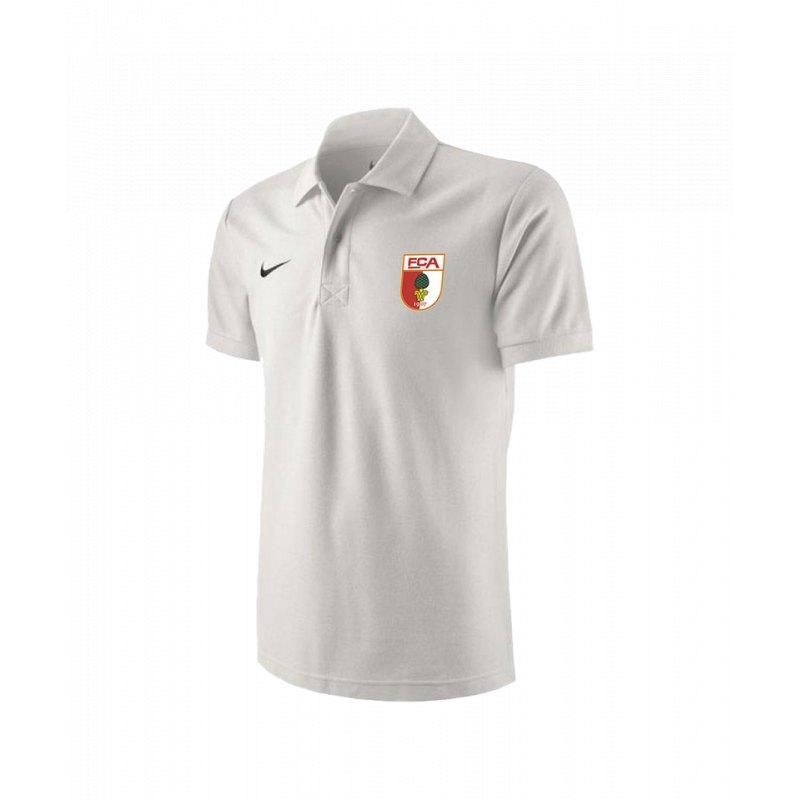 Nike FC Augsburg Poloshirt Weiss F100 - weiss