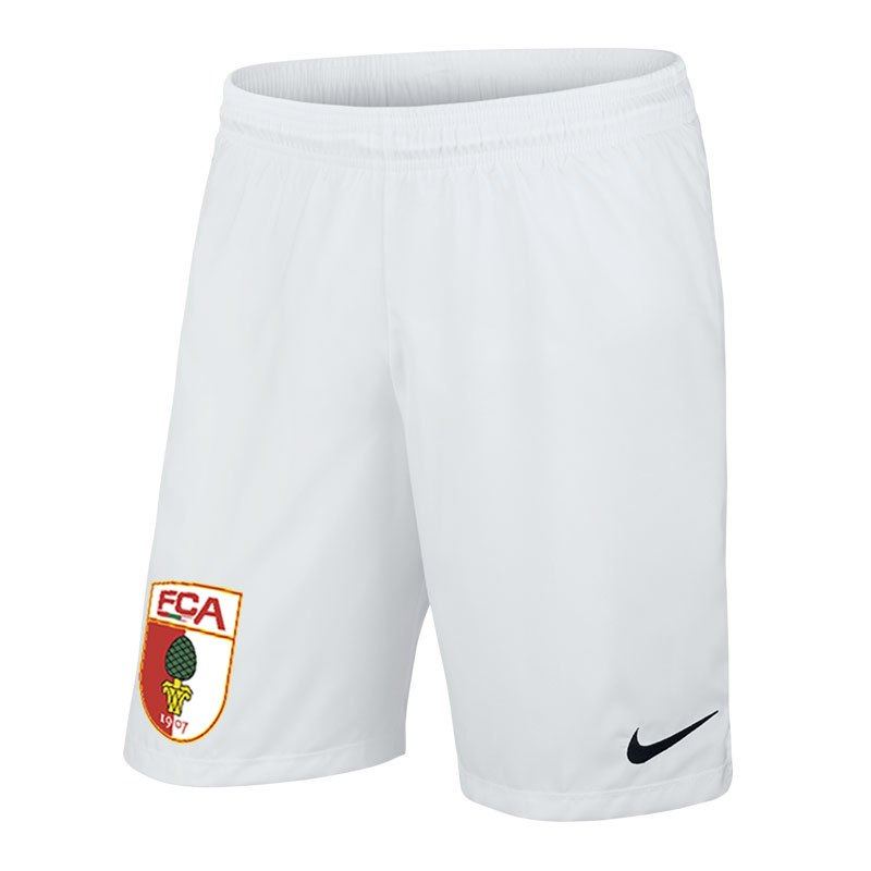 Nike FC Augsburg Short Home Kids 2017/2018 F100 - weiss