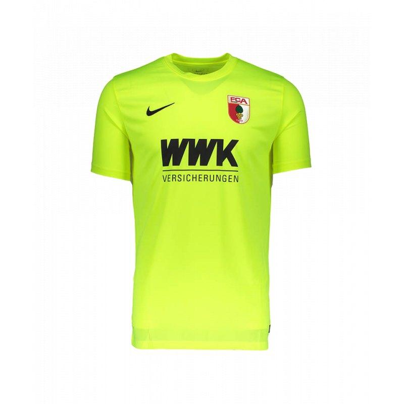 Nike FC Augsburg Torwarttrikot Home 2017/2018 F702 - gelb