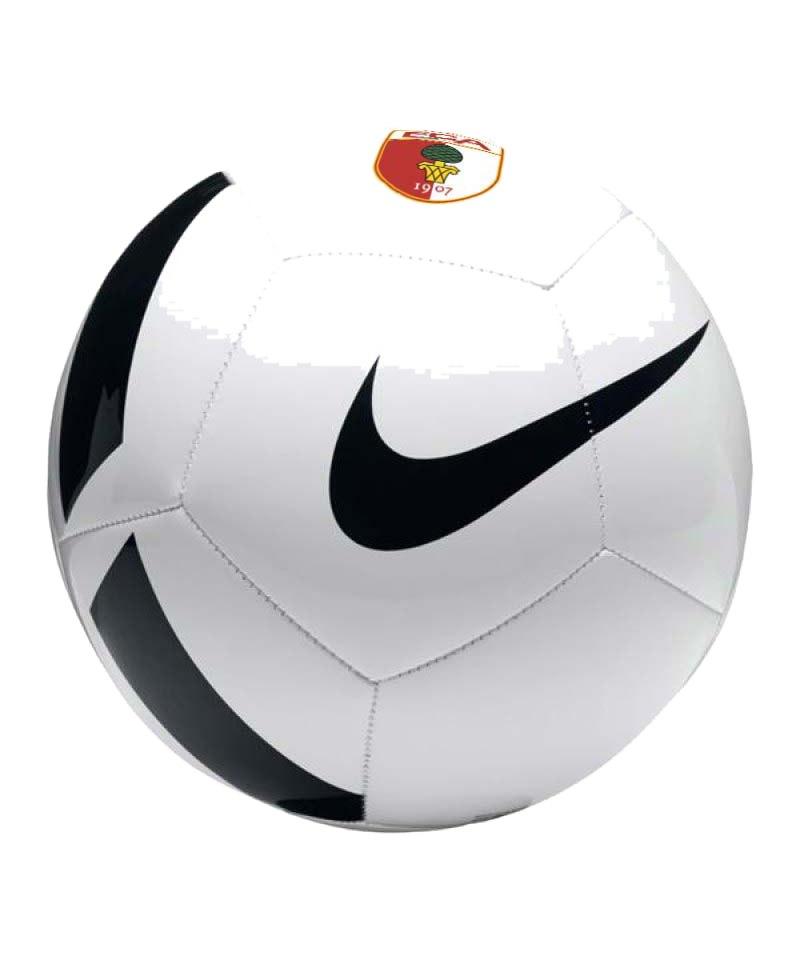 Nike FC Augsburg Trainingsball Weiss Schwarz F100 - weiss
